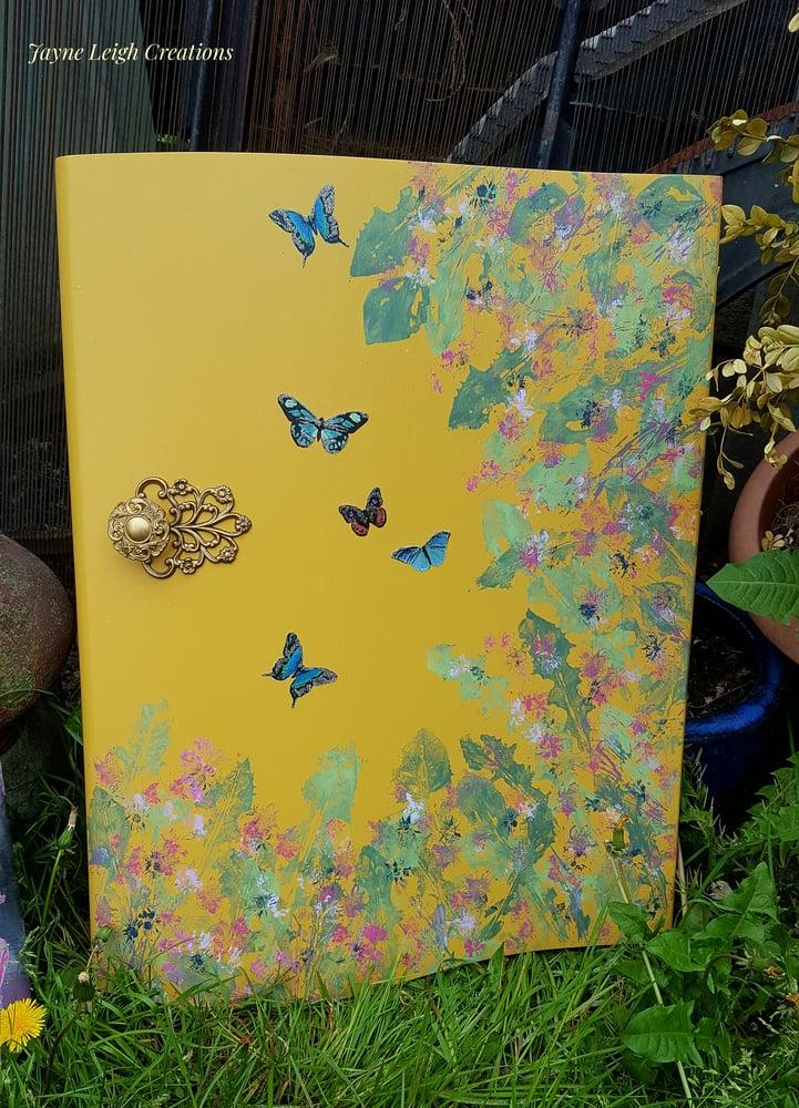Image of Nature Butterfly Door