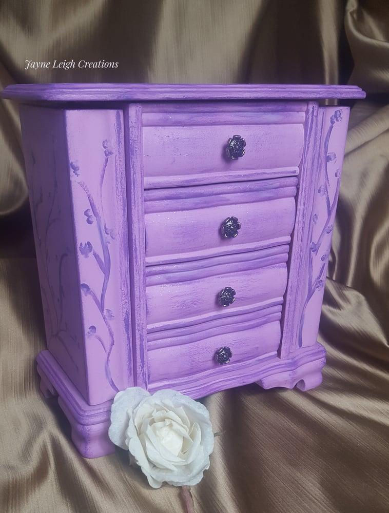 Image of Lilac Jewellry Box