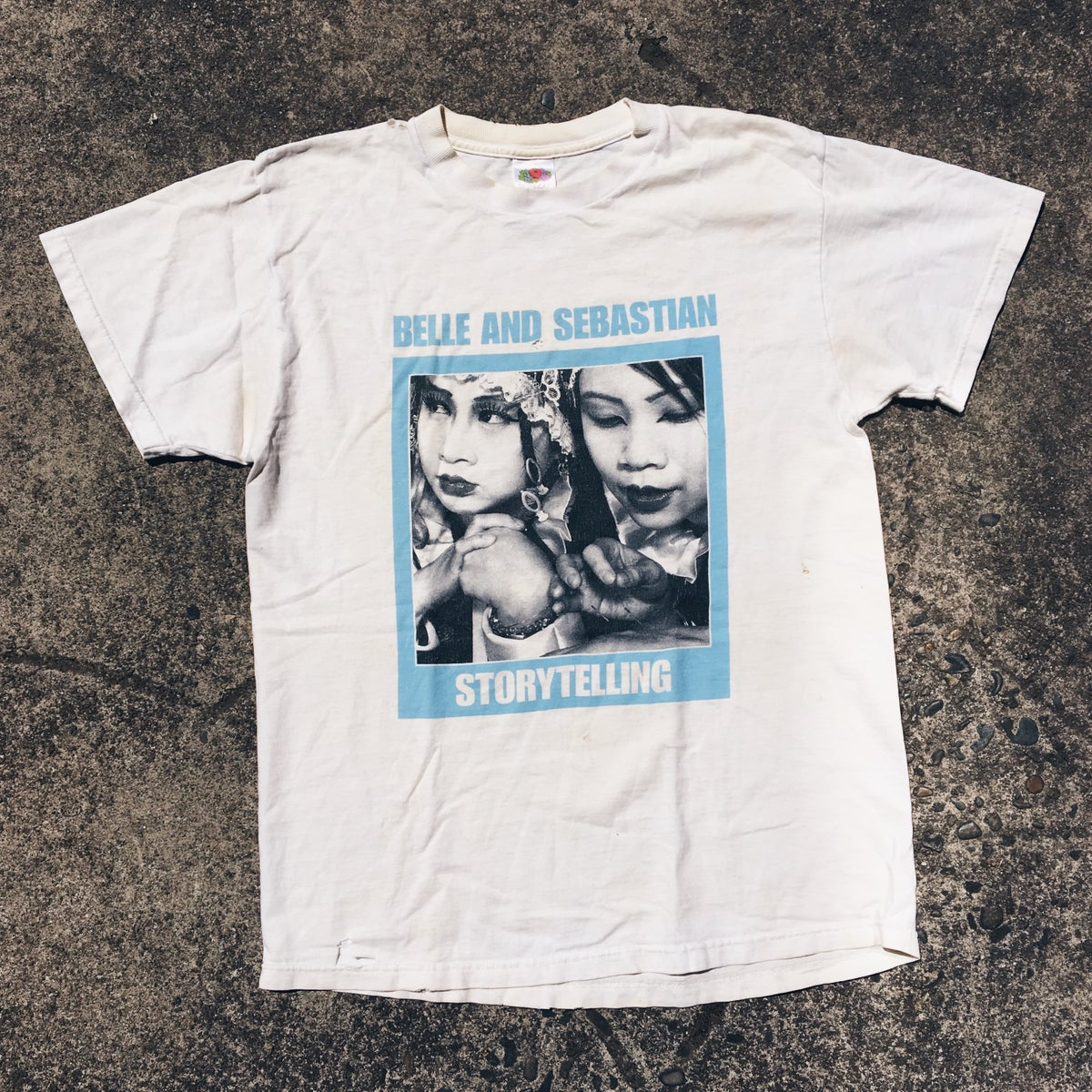 Image of Original 2002 Belle And Sebastian Storytelling Tee.
