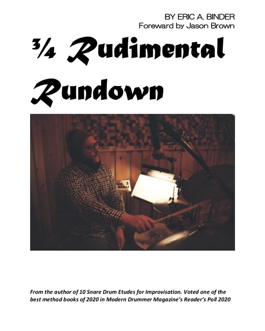 Image of 3/4 Rudimental Rundown