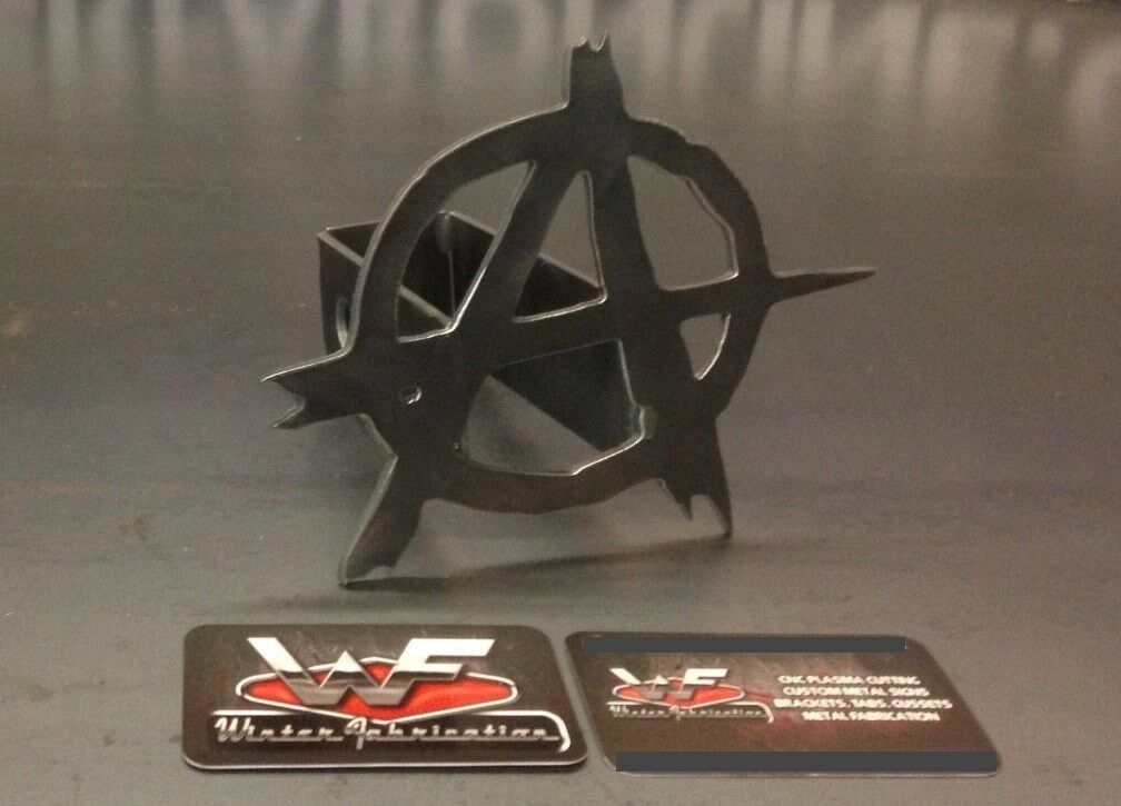 Image of Anarchy Symbol Hitch Cover