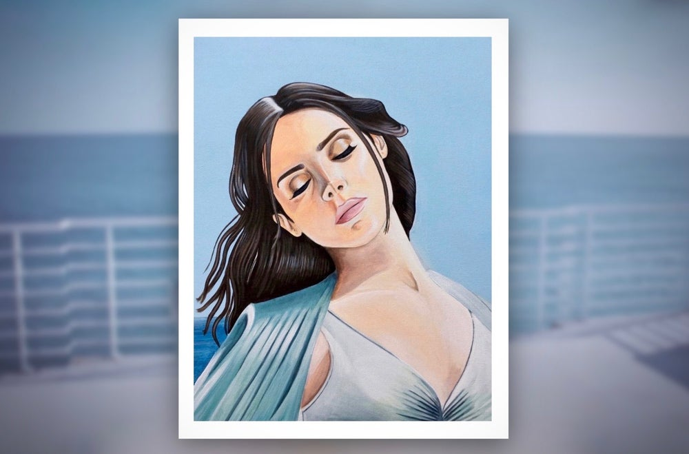 Image of *FINAL FEW* Honeymoon Limited Edition Poster Print