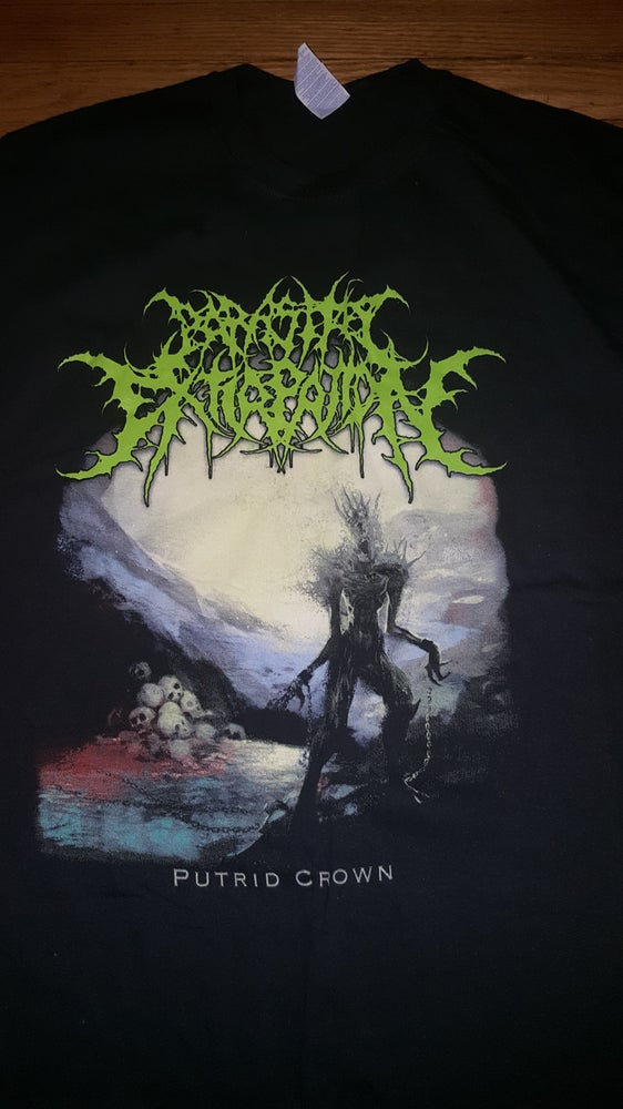 Image of PARASITIC EXTIRPATION PUTRID CROWN T SHIRT