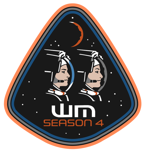 Image of Season 4 (2019) WeMartians Podcast Commemorative Mission Patch - LIMITED EDITION