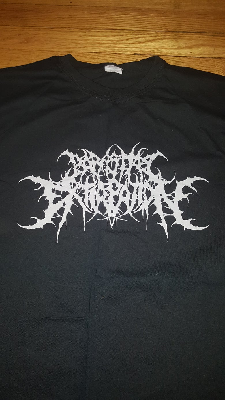 Image of PARASITIC EXTIRPATION LOGO T SHIRT