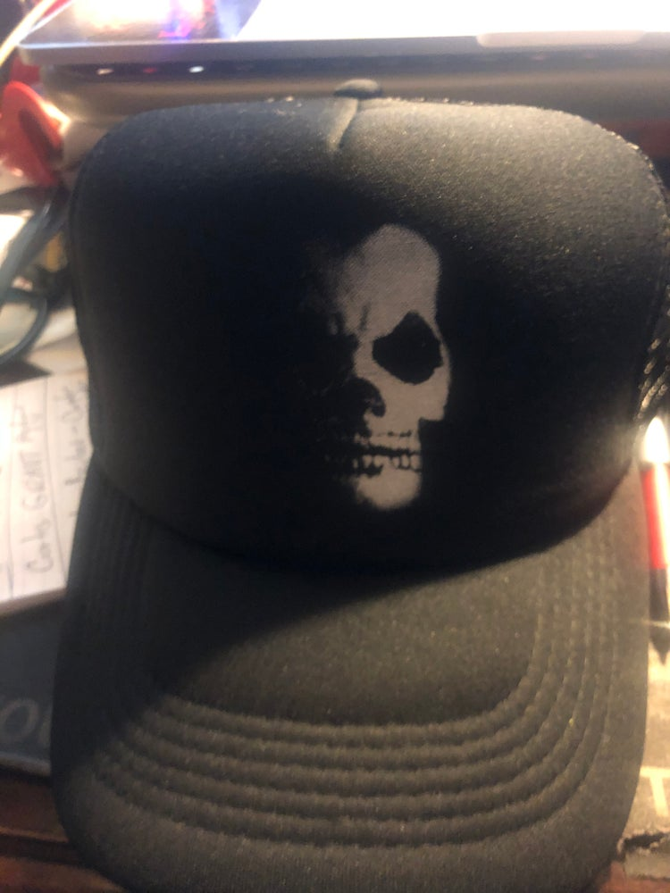 Image of Michale Graves Skull Truckers hat
