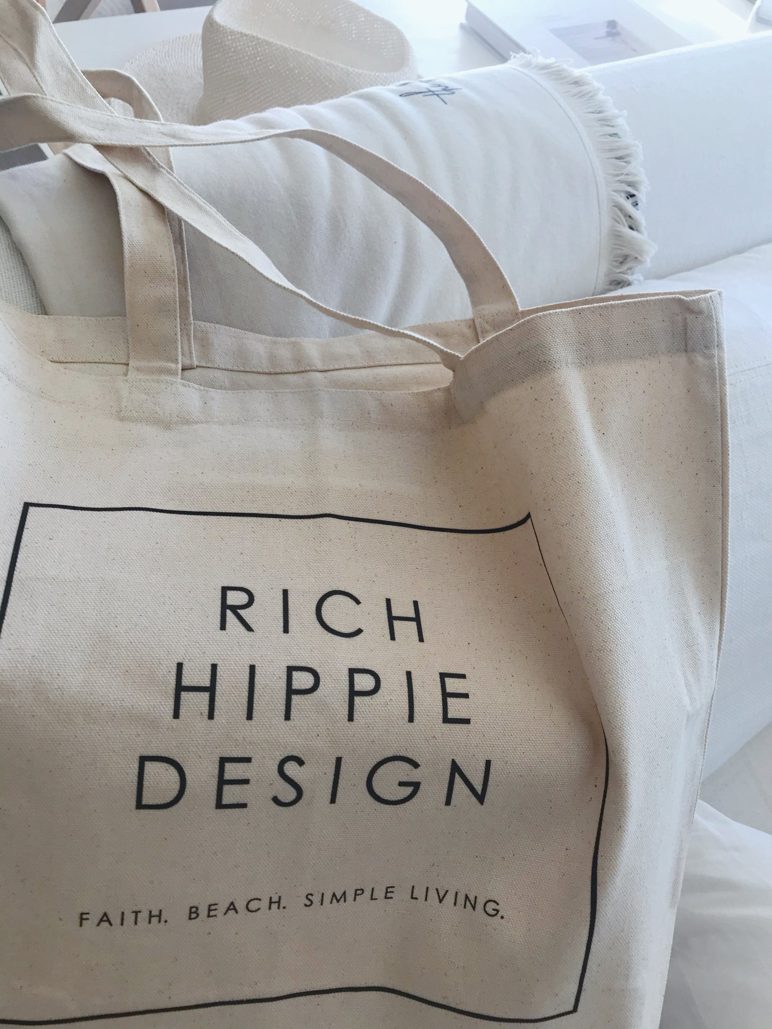 Image of Rich Hippie Design Reusable Tote - Large