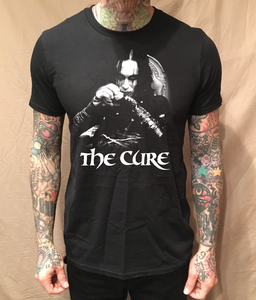 Image of THE CROW CURE BLACK TEE