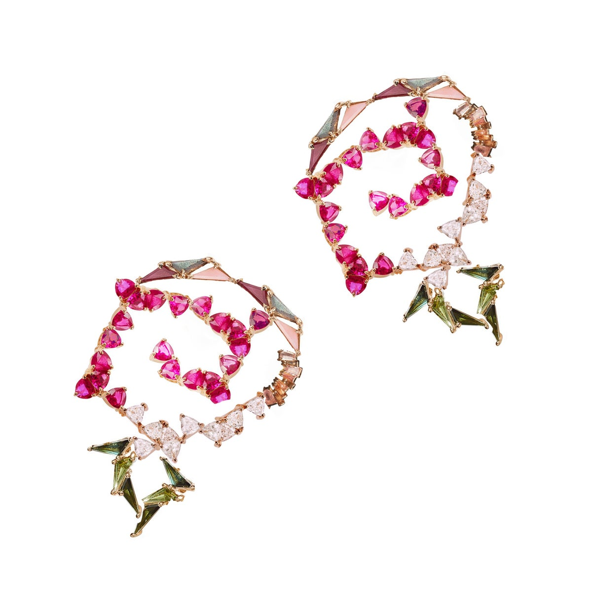 Image of Lady of the Roses Earrings
