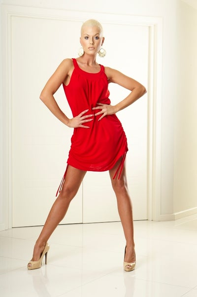 Image of Stella Dress E3190 BLACK or RED