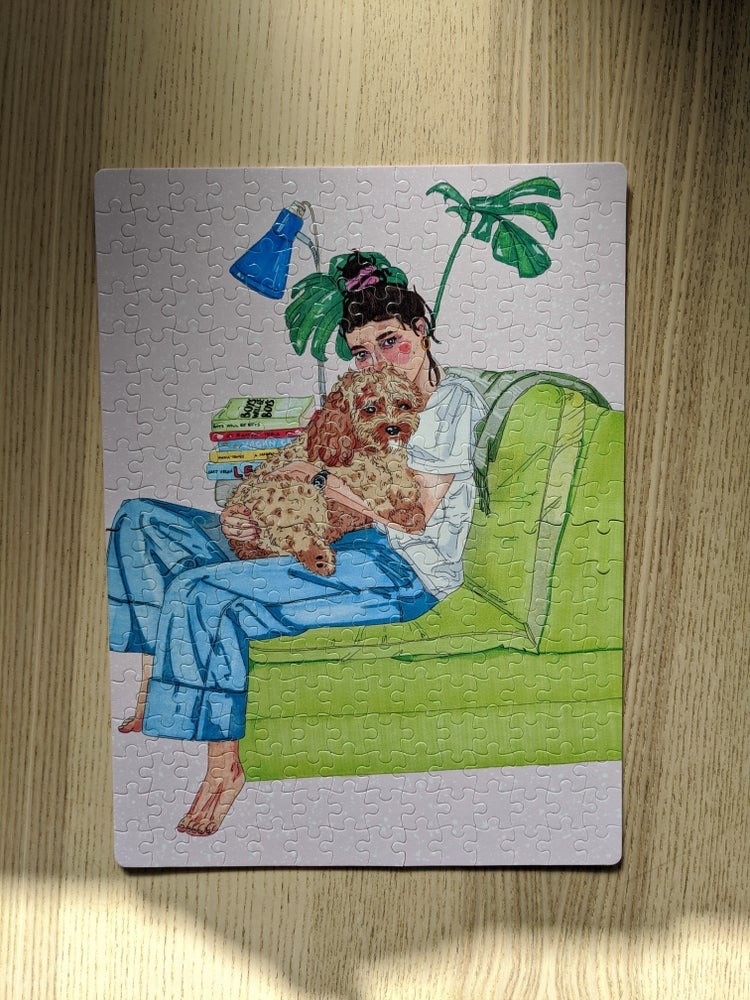 Image of Puppy Love PUZZLE