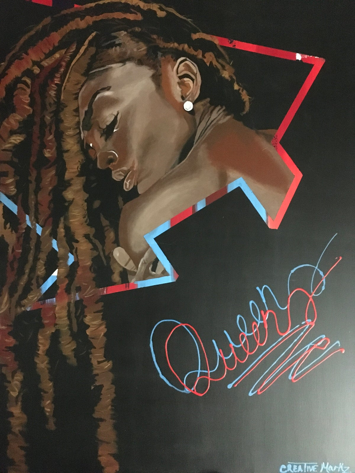 "Image of ""Queens"" Canvas Print"