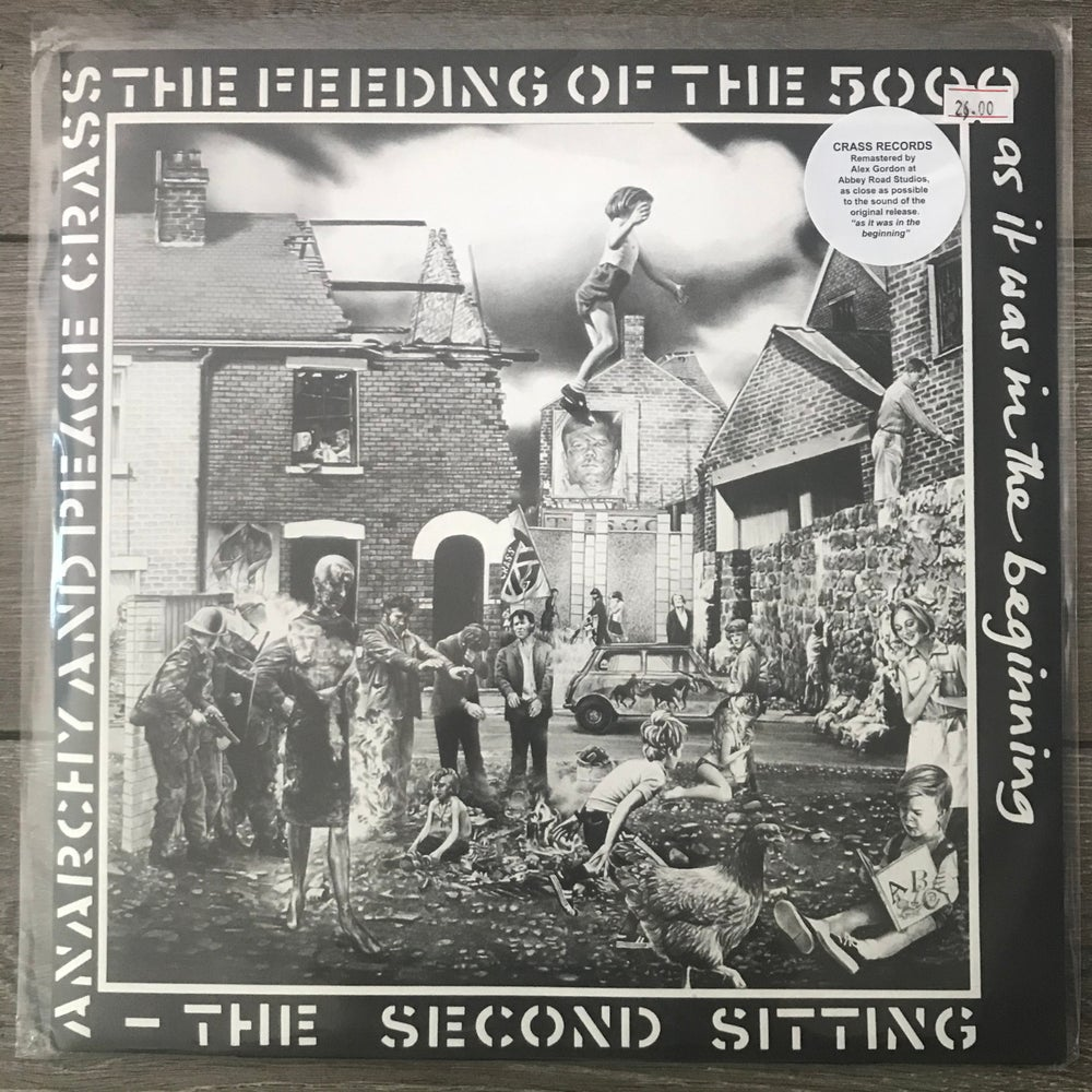 Image of Crass - Feeding Of The 5000 Vinyl LP