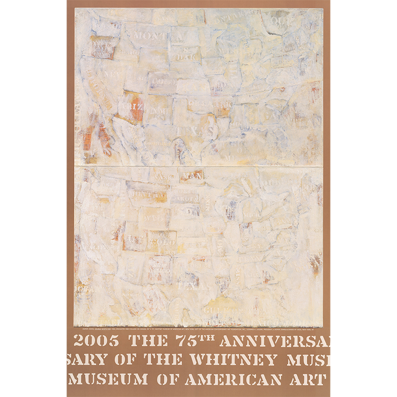 Image of Jasper Johns / Whitney Museum