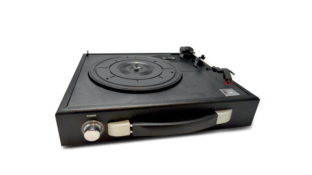 Image of UMS Looptune Classic Portable Turntable