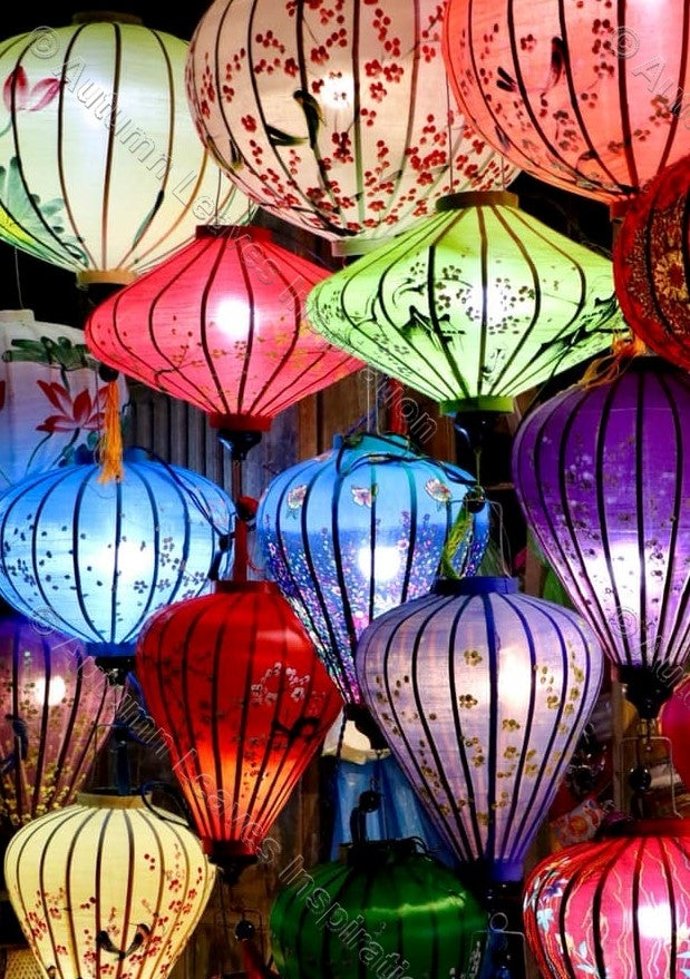 Image of C7 Multicoloured Lanterns