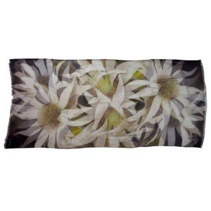 Image of Cashmere-Silk Flannel Flowers