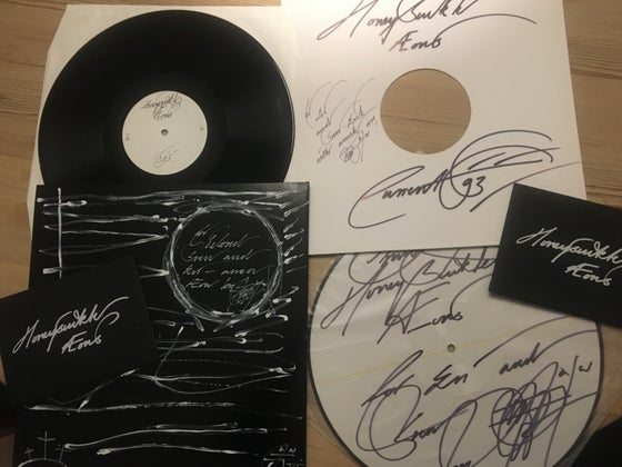 Image of Current 93 Handmade cover. Sign