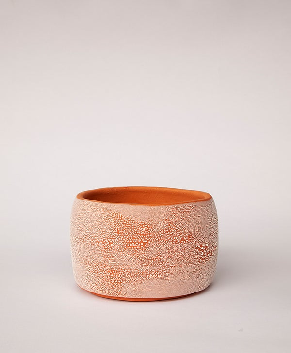 Image of Textured Terracotta Planter no 4