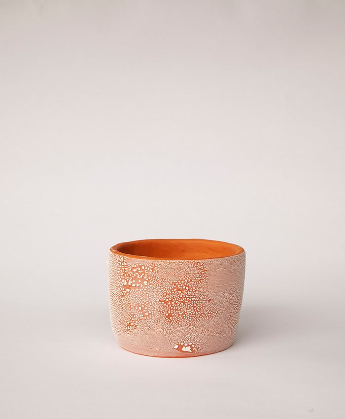 Image of Textured Terracotta Planter no 2