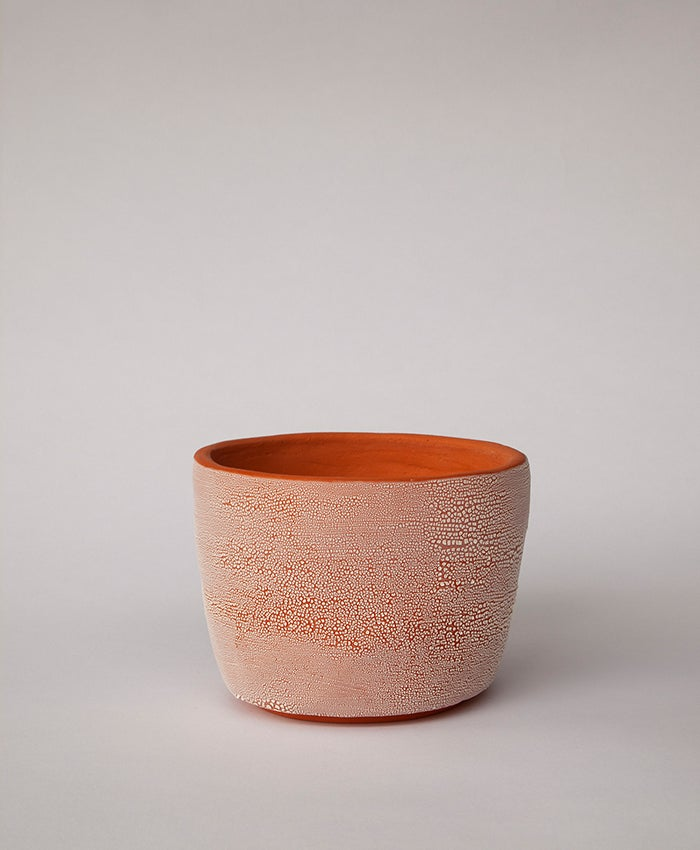 Image of Textured Terracotta Planter no 5