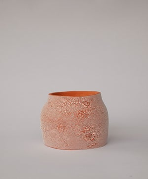 Textured Terracotta Planter no 3