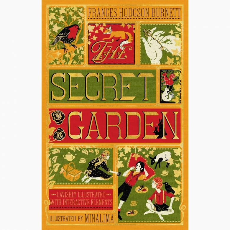 The Secret Garden - Frances Hodgson Burnett .