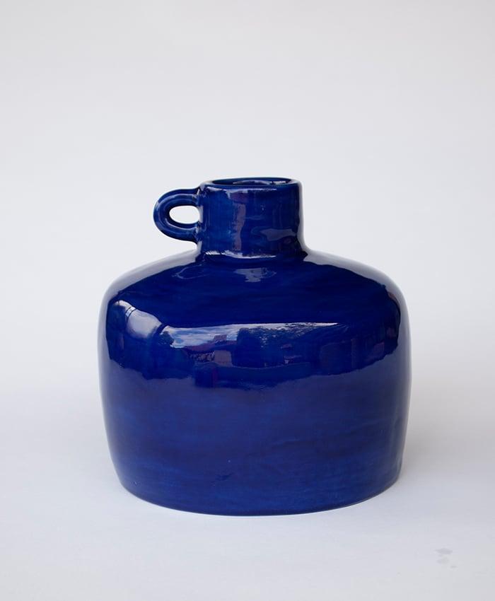 Image of Blue Ye Olde Ale Jug with Handle no 3