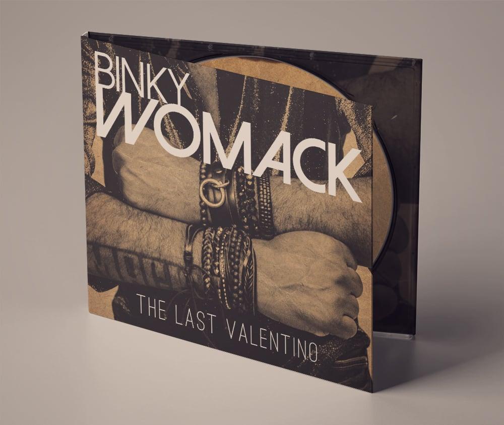 Image of CD The Last Valentino
