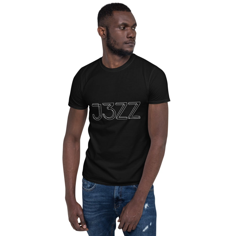 J3ZZ Unisex T-Shirt - 100% cotton - color: black