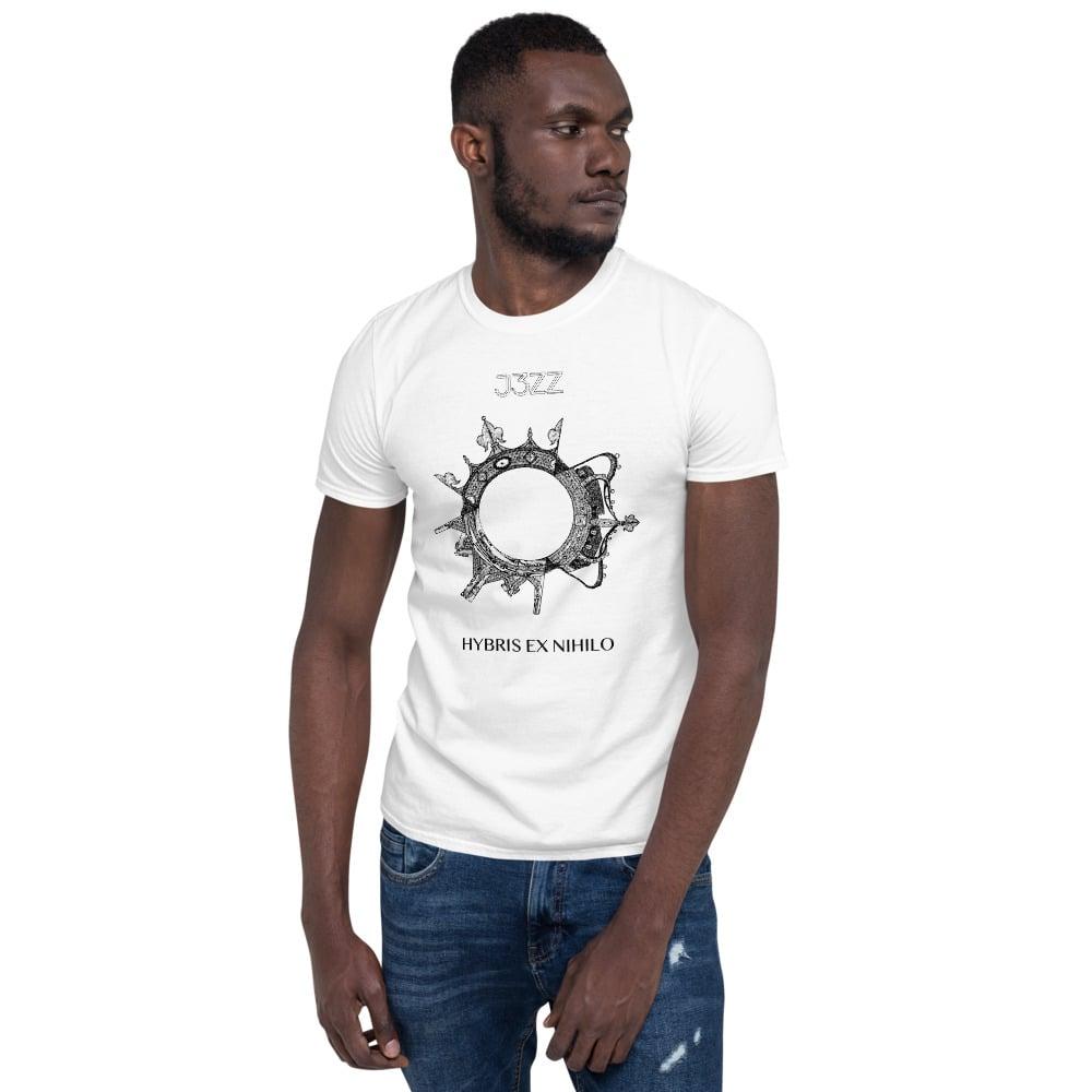 HYBRIS EX NIHILO Unisex T-Shirt - 100% cotton - color: white