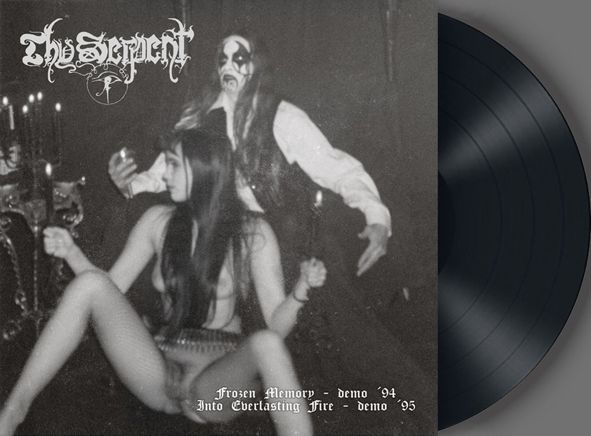 THY SERPENT -Frozen Memory / Into Everlasting Fire- DLP (BLACK)