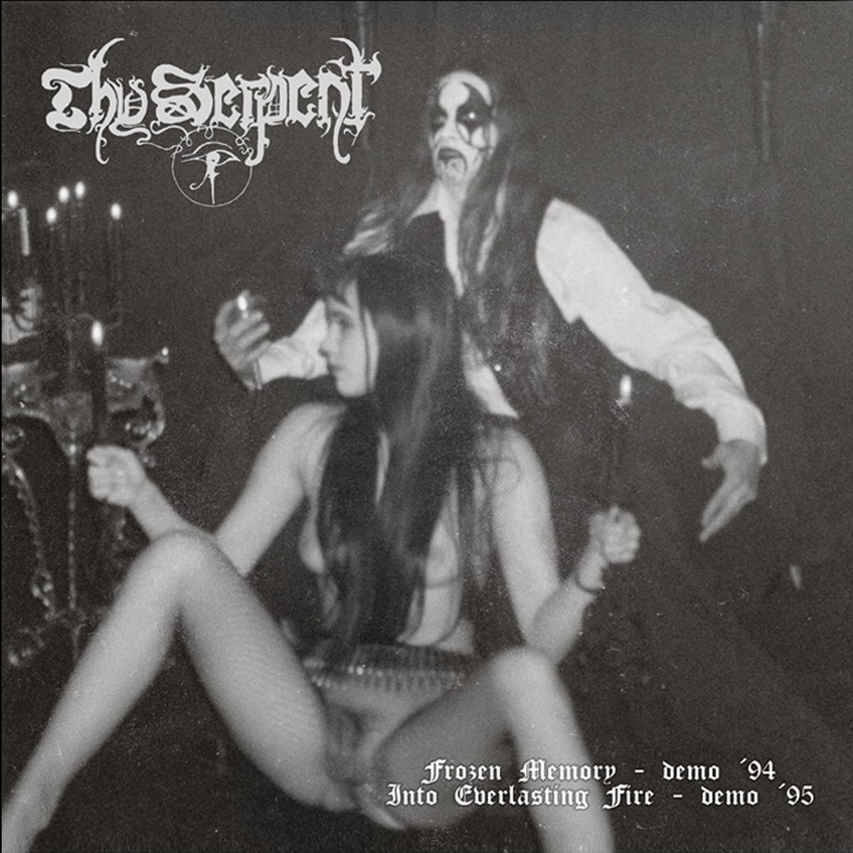 THY SERPENT -Frozen Memory / Into Everlasting Fire- DLP (SALT N' PEPPER)