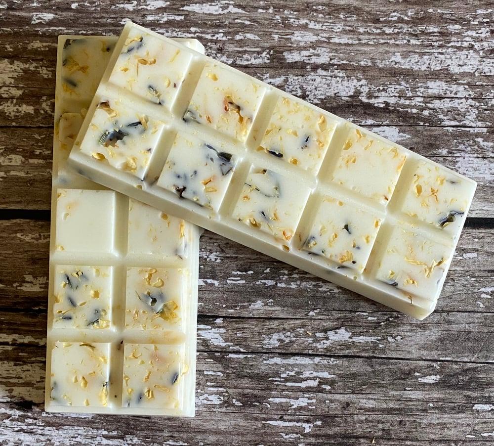 Image of Fresh Cotton & Lavender Soy Wax Melt Bar