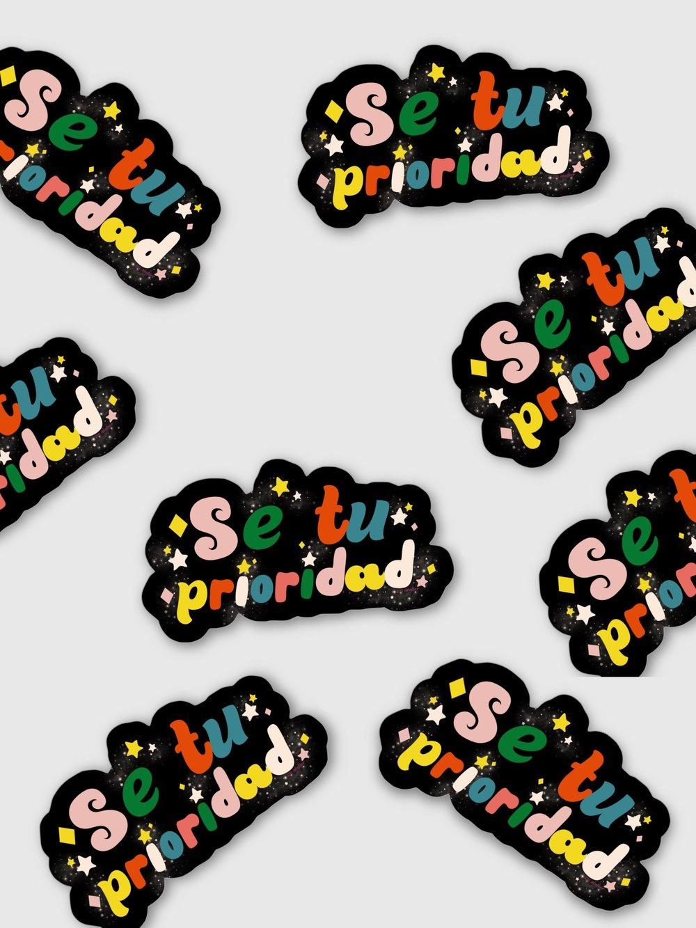 Image of Soy mi Prioridad Sticker