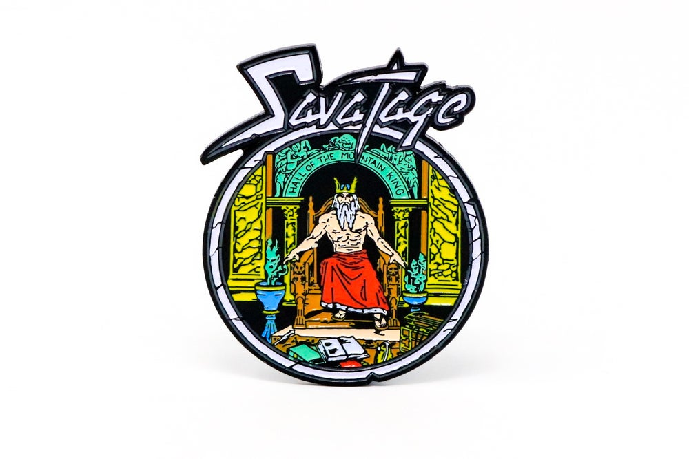 Image of Savatage - Hall of the Mountain King Enamel Pin