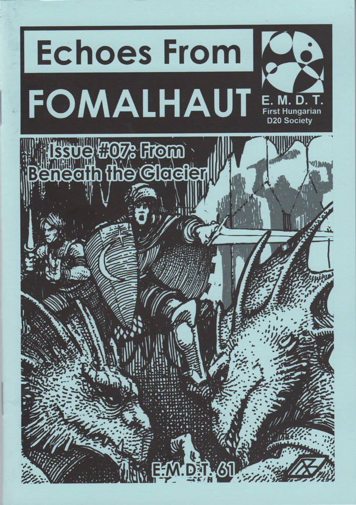 Image of Echoes From Fomalhaut #07: From Beneath the Glacier