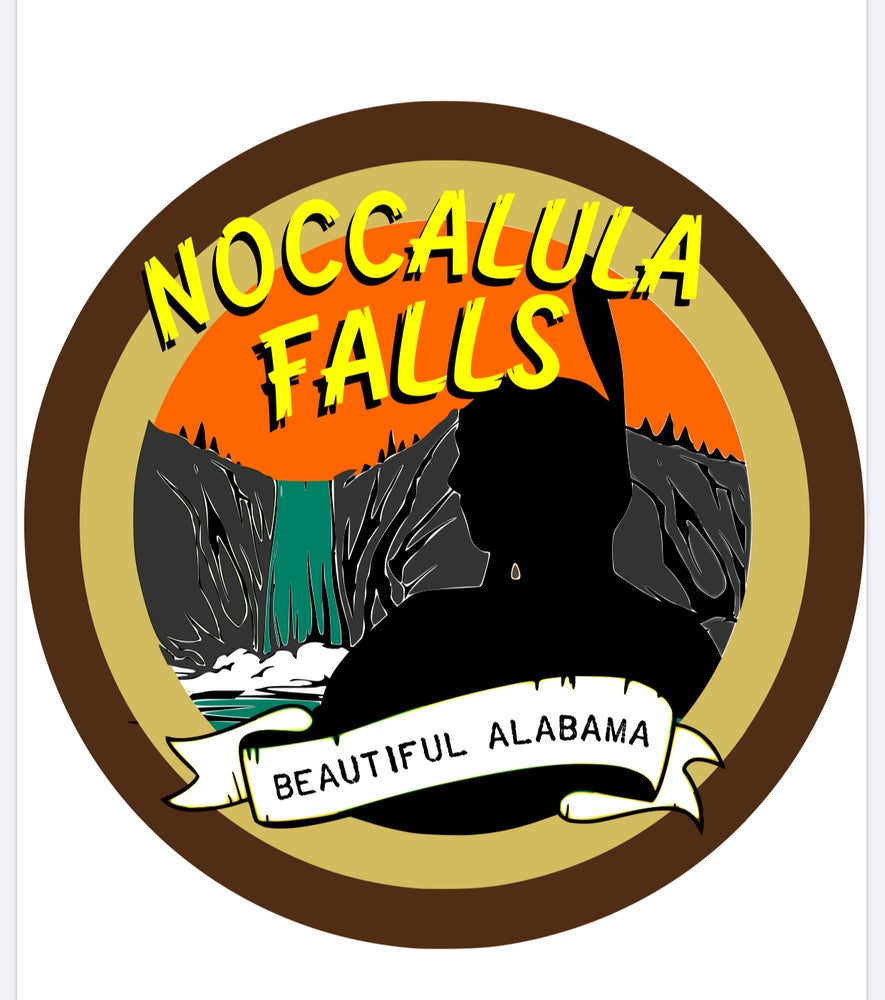 Image of Noccalula Falls Decal