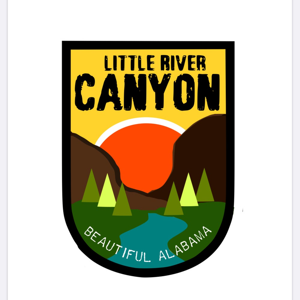 Image of Little River Canyon Decal