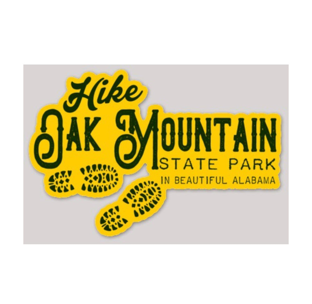 Image of Hike Oak Mountain Decal