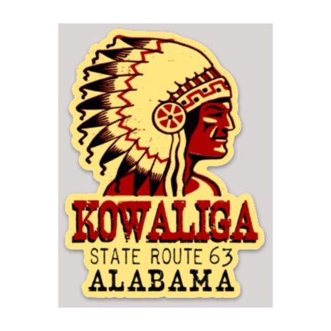 Image of Kowaliga Alabama Decal