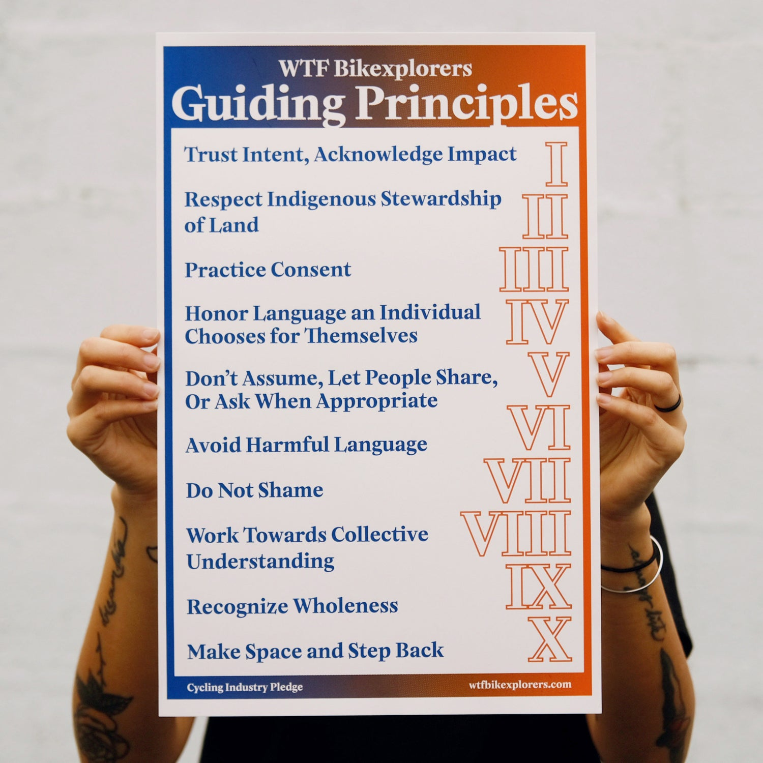Image of WTF Guiding Principles Poster