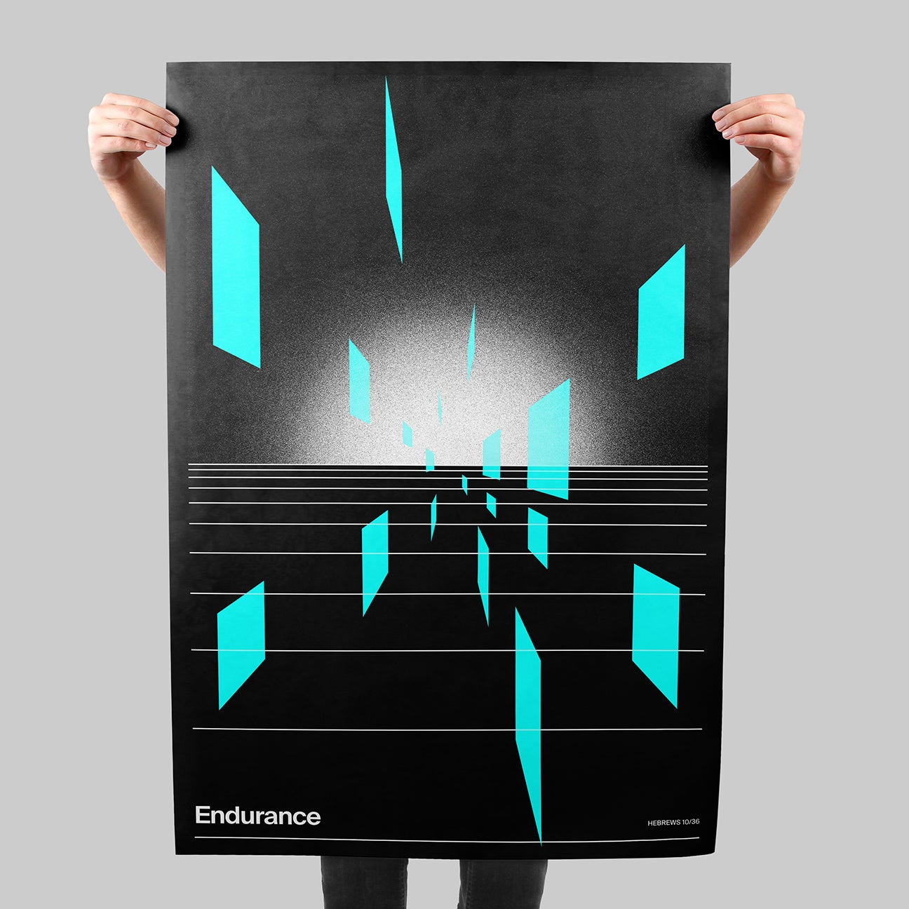 HZN: Endurance SIGNAL A poster by Xtian Miller