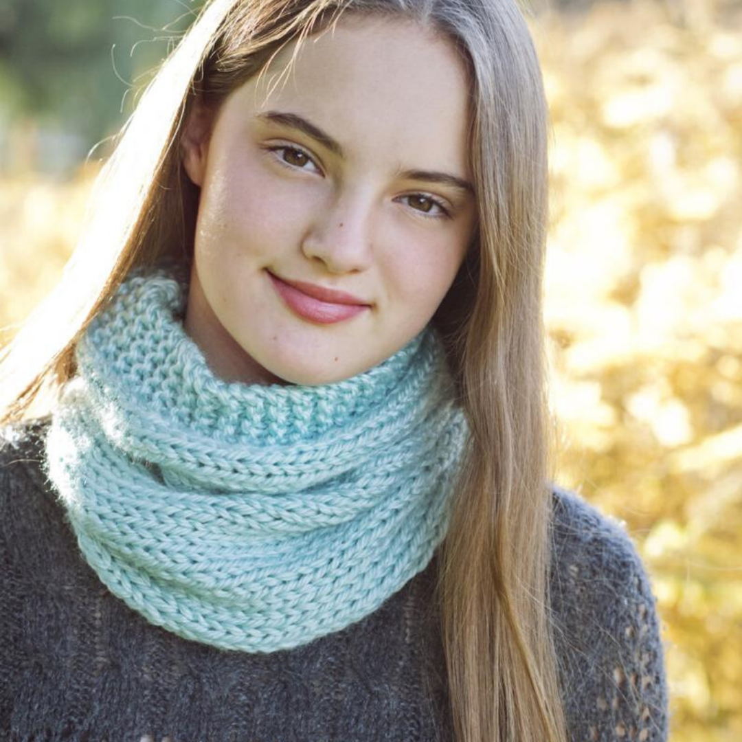 Image of Studio Cowl Knitting Pattern PDF Download