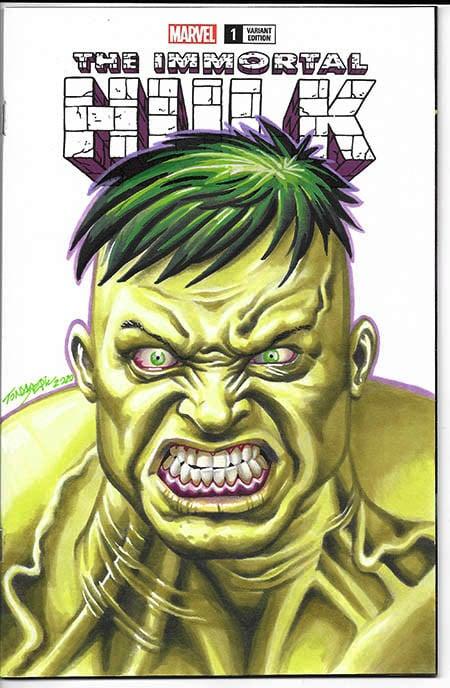 Image of ANGRY HULK!