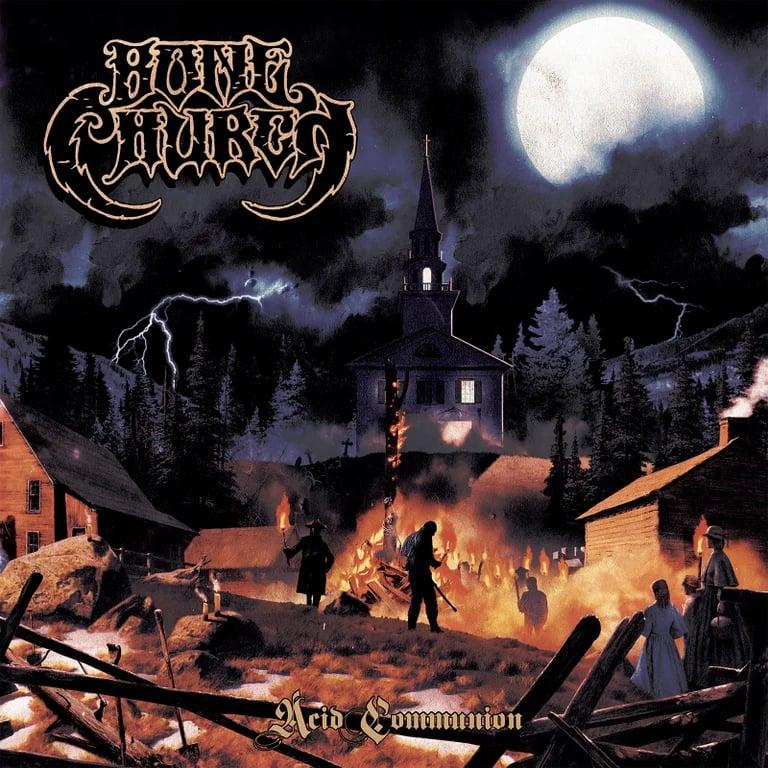 Image of Bone Church - Acid Communion CD Digipak