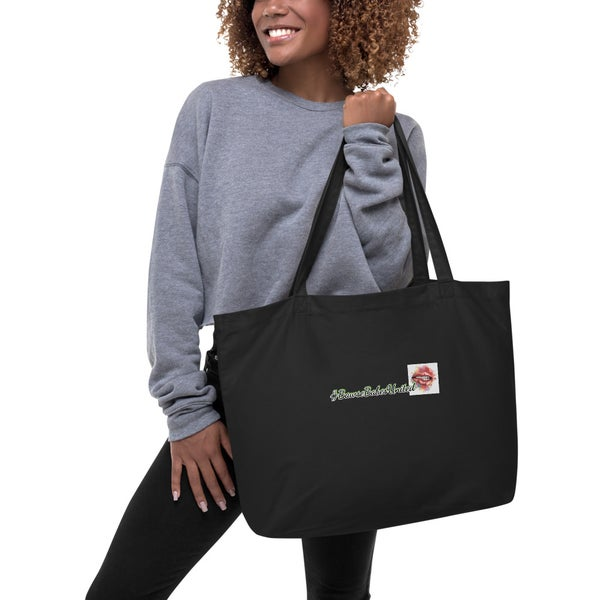 Image of #BawseBabesUnited Large Organic Tote