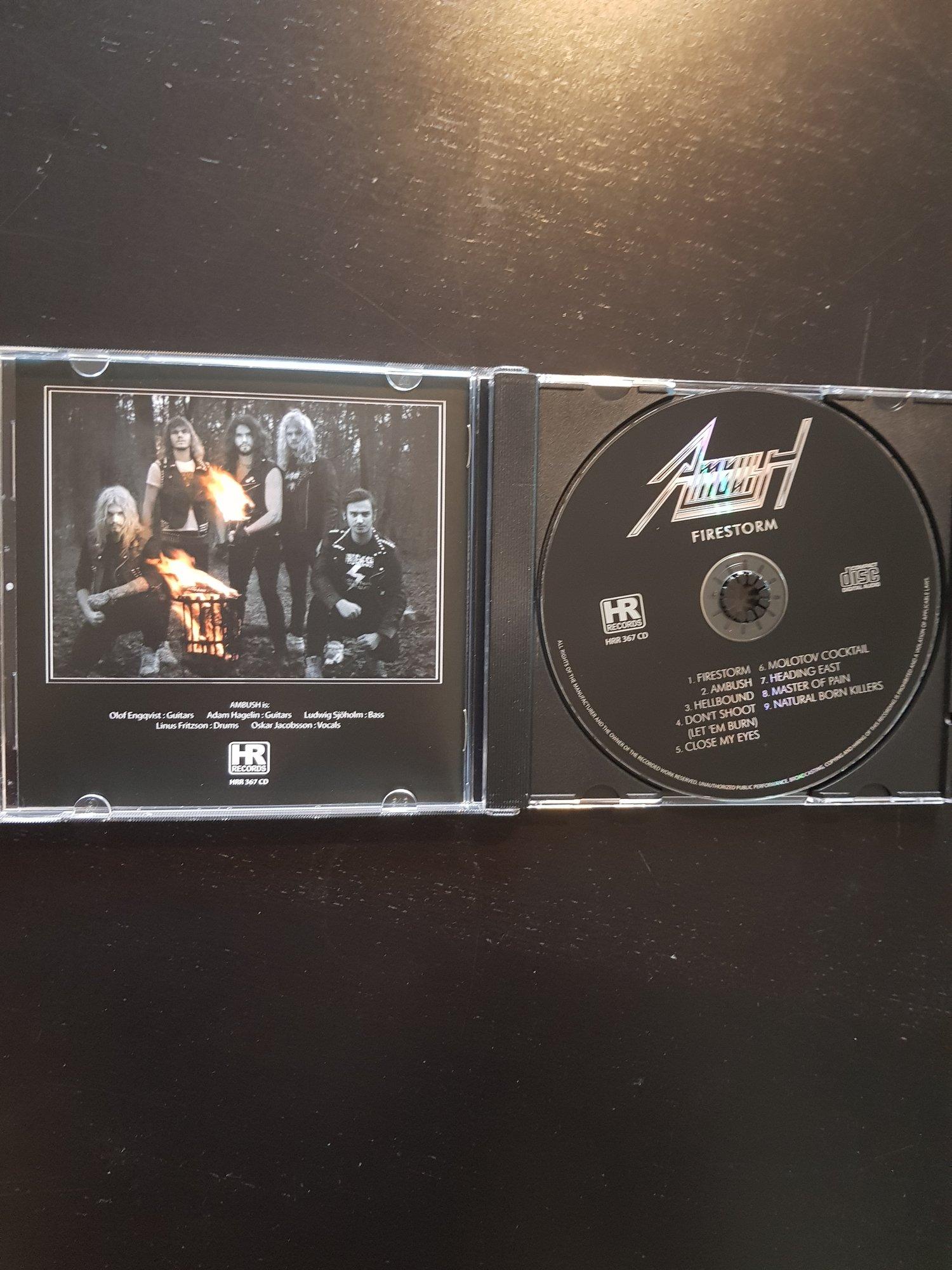 Image of Firestorm - Slipcase CD