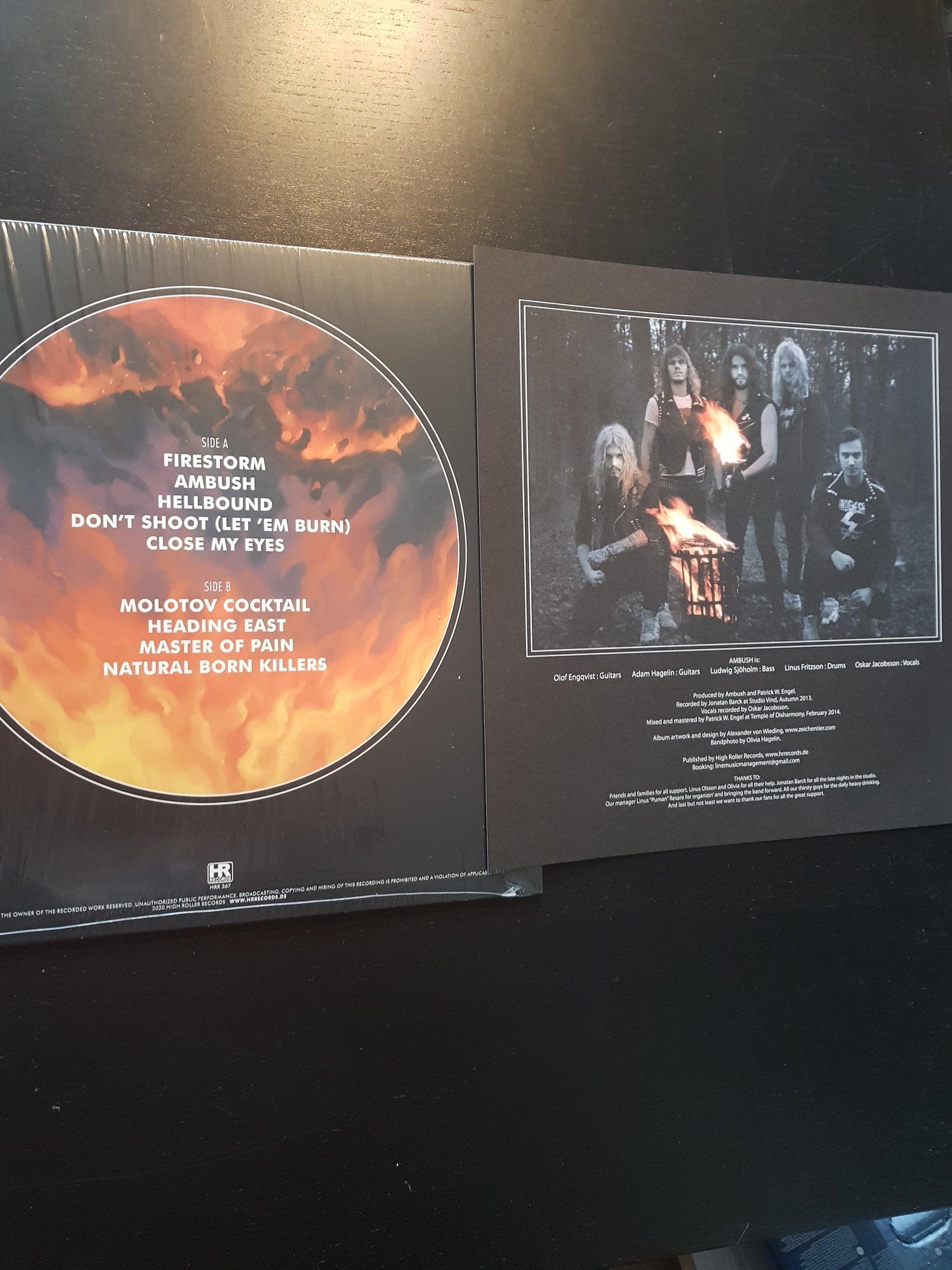 Image of Firestorm - LP BLACK