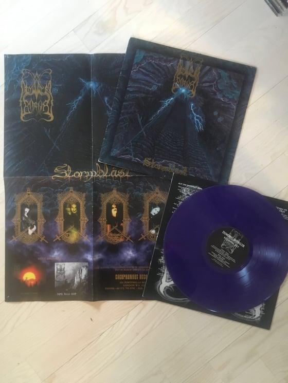 Image of Dimmu Borgir original vinyl Stormblåst w/poster